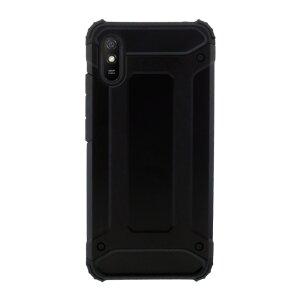 Husa Cover Silicon Carbon pentru Xiaomi Redmi 9A Bulk Negru
