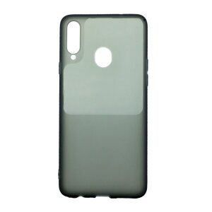 Husa Cover Silicon Tel Protect pentru Samsung Galaxy A20s Bulk Negru