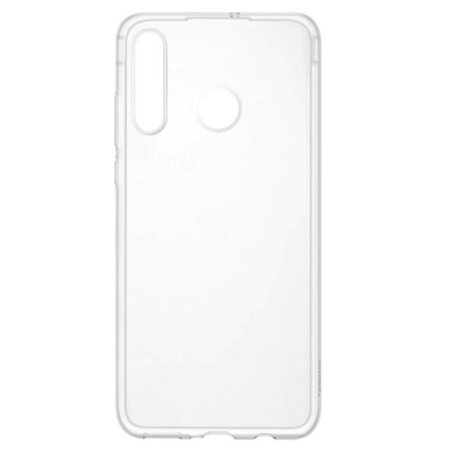 Husa Cover Silicon Flexible Clear Case Huawei pentru Huawei P30 Lite Transparent