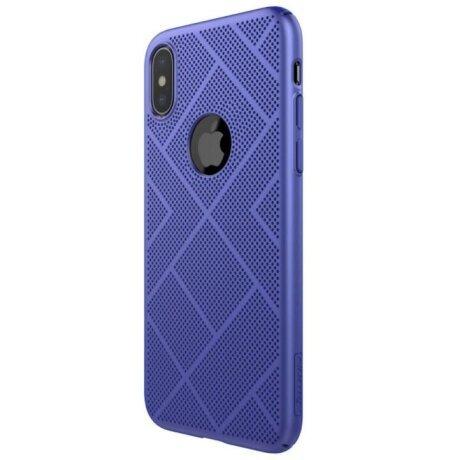 Husa Hard Air Nillkin pentru iPhone X Albastru