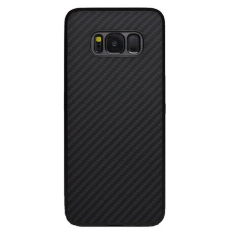 Husa Hard Cover Fiber Nillkin Samsung Galaxy S8 Negru