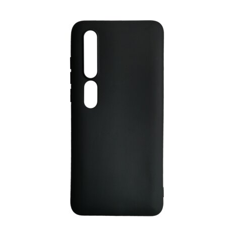 Husa Cover Senso Silicon Soft Mat Pentru Xiaomi Mi 10/Mi 10 Pro Negru
