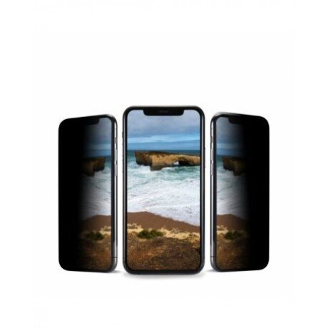 Folie Sticla Hoco 3D Anty-Spy Shatterproof Edges pentru iPhone XR/11 Negru