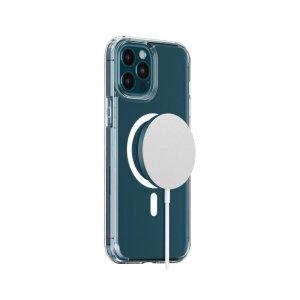 Husa Cover Hoco Magnetic pentru Iphone 12 Pro Max Transparent