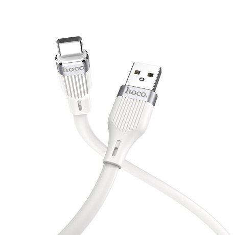Cablu Date Hoco U72 USB to Type-C 1.2m Alb