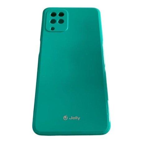 Husa Cover Mercury Silicon Jelly pentru Samsung Galaxy A12 Mint