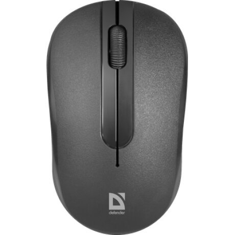 Mouse Optic Wireless Defender Hit 1600 DPI Negru