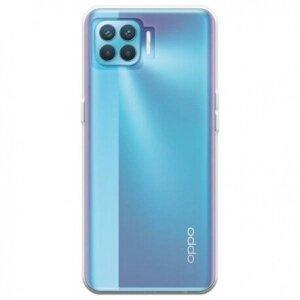 Husa Cover Silicon Slim pentru Oppo Reno 4 Lite Transparent