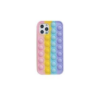 Husa Cover Pop It pentru iPhone 12/12 Pro  Multicolor