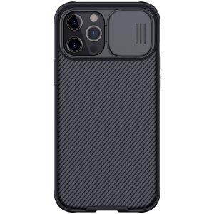 Husa Cover Nillkin CamShield Pro Hard pentru IPhone 12 Pro Max Negru