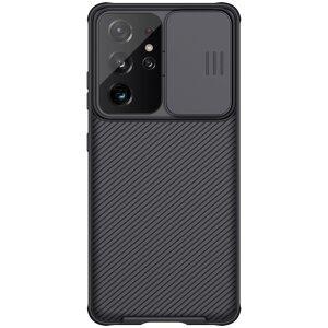 Husa Cover Nillkin CamShield Pro Hard pentru Samsung Galaxy S21 Ultra Negru