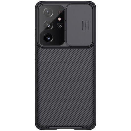 Nillkin CamShield Pro Zadni Kryt pro Samsung Galaxy S21 Ultra Black