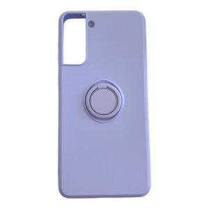 Husa Cover Silicon Finger Grip pentru Samsung S21 Plus Mov