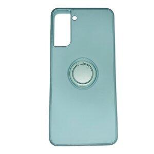 Husa Cover Silicon Finger Grip pentru Samsung S21 Plus Verde