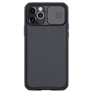 Husa Cover Nillkin CamShield Pro Hard pentru iPhone 12/12 Pro Negru