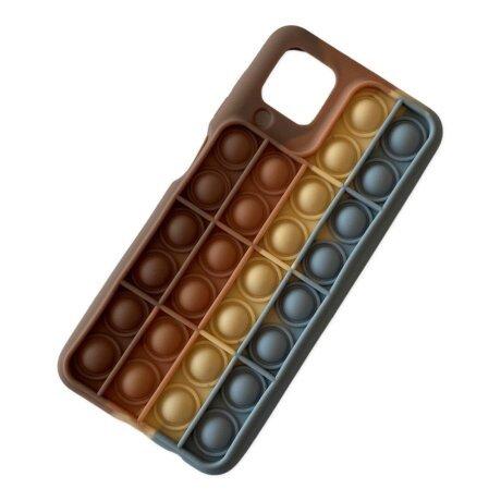 Husa Cover Pop It pentru Samsung Galaxy A12/M12 Bulk Multicolor