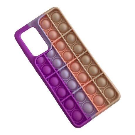 Husa Cover Pop It pentru Samsung Galaxy A72/A72 5G Bulk Multicolor