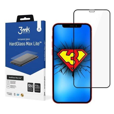 Folie Sticla 3MK Hardglass Max Lite pentru iPhone 13 Mini Negru
