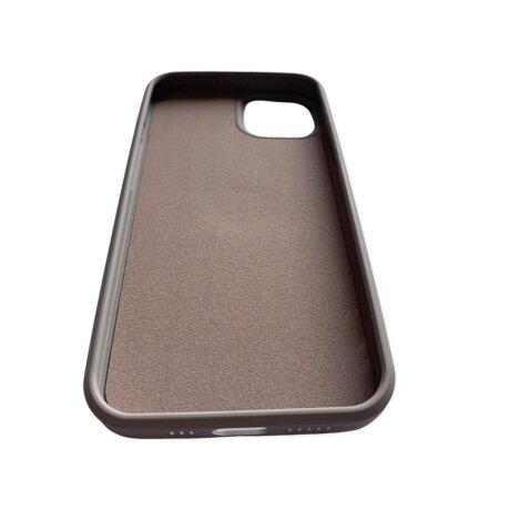 Husa Cover Silicon Finger Grip pentru Iphone 13 Gri