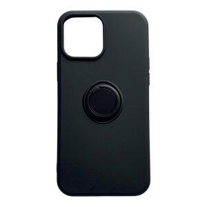 Husa Cover Silicon Finger Grip pentru Iphone 13 Negru