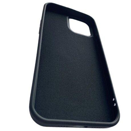 Husa Cover Silicon Finger Grip pentru Iphone 13 Pro Max  Negru