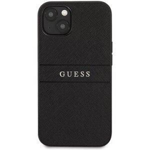 GUHCP13LPSASBBK Guess PU Leather Saffiano Zadni Kryt pro iPhone 13 Pro Black