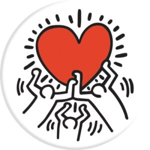 Suport Telefon Popsockets Keith Haring Family