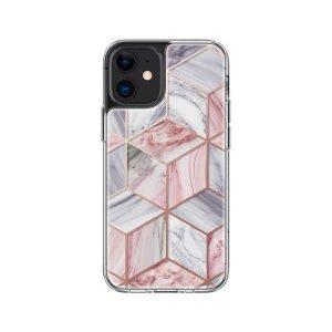 Husa Cover Spigen Cyrill Cecile pentru Iphone 12 Mini Marble Pink