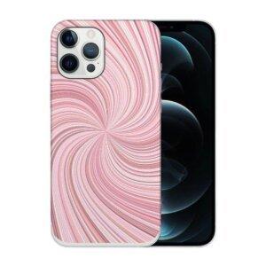 Husa Fashion Mobico pentru iPhone 13 Pro Circle Pink