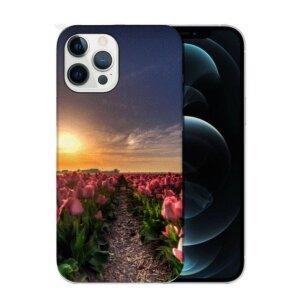 Husa Fashion Mobico pentru iPhone 13 Pro Flower