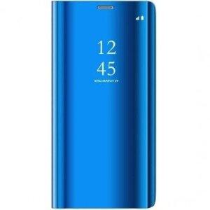 Husa Book Smart Clear View pentru Samsung Galaxy S20 FE/S20 FE 5G Albastru