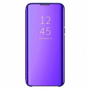 Husa Book Smart Clear View pentru Samsung Galaxy S20 FE/S20 FE 5G Violet