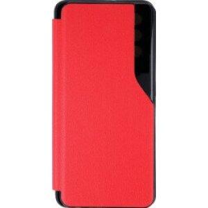 Husa Book Smart View pentru Samsung A72/A72 5G Rosu