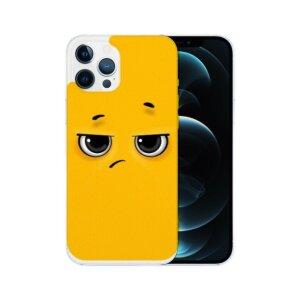 Husa Fashion Mobico pentru iPhone 13 Pro Max Cute Yellow Ball