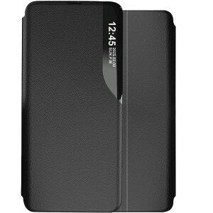 Husa Book Smart View pentru Samsung A52/A52 5G Negru