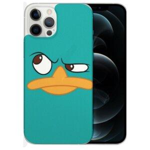Husa Fashion Mobico pentru iPhone 13 Pro Max Curious Duck