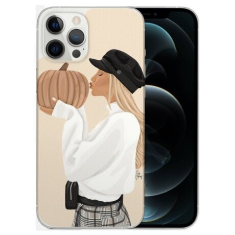 Husa Fashion Mobico pentru iPhone 13 Pro Max Kisses Before You Go