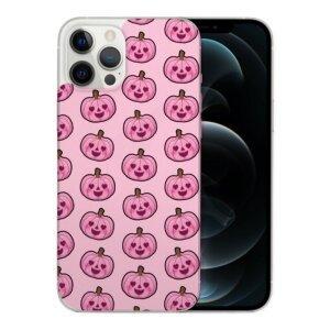 Husa Fashion Mobico pentru iPhone 13 Pro Max Pumpkins Pink