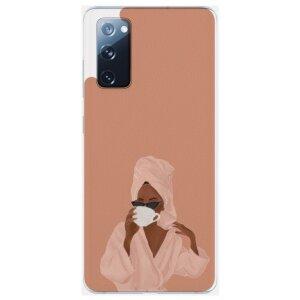 Husa Fashion Mobico pentru Samsung Galaxy S20 FE Coffe Please