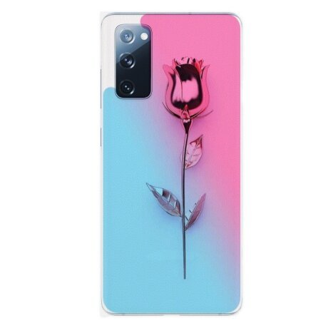 Husa Fashion Mobico pentru Samsung Galaxy S20 FE Gold Rose