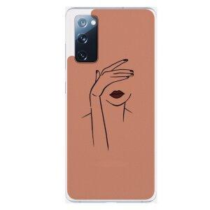 Husa Fashion Mobico pentru Samsung Galaxy S20 FE Script Woman