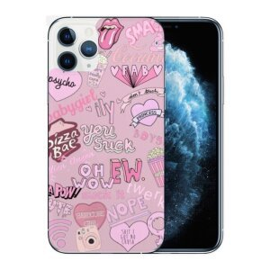 Husa Fashion Mobico pentru iPhone 11 Pro All With That Pink