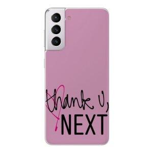Husa Fashion Mobico pentru Samsung Galaxy S21 Thank U Next