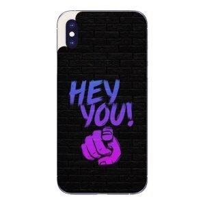 Husa Fashion Mobico pentru iPhone X/Xs Hey You