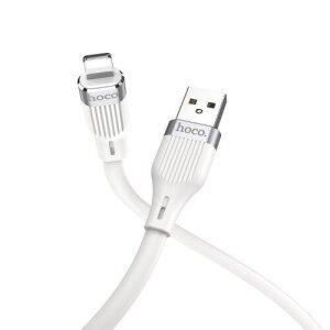 Cablu Date Hoco U72 USB to Lightning 1.2m Alb