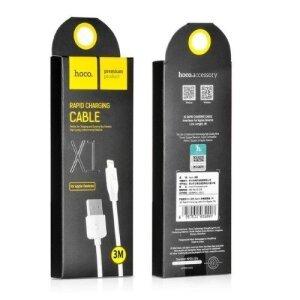 Cablu Hoco X1 Lightning Alb 1m