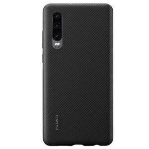 Husa Hard Huawei P30 Pu Negru Case