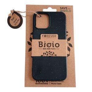 Husa Cover Biodegradabile Forever Bioio pentru iPhone 12 Pro Max Negru