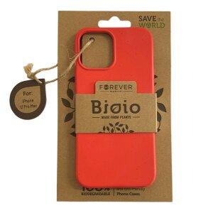 Husa Cover Biodegradabile Forever BioIo pentru iPhone 12 Pro Max Rosu