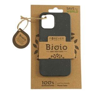Husa Cover Biodegradabile Forever Bioio pentru iPhone 12/12Pro Negru